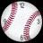 Baseball Clock Widget 2x2 icon