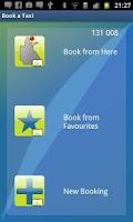 Screenshot of iCabCairns