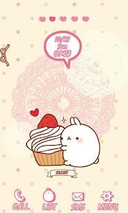 CUKI Theme Molang's cake