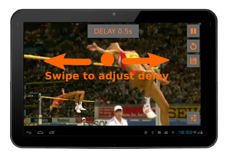 Video Coach - Delay Mirror- screenshot thumbnail