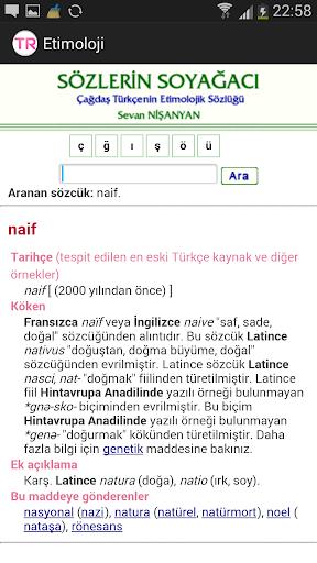 Etimoloji Sözlüğü