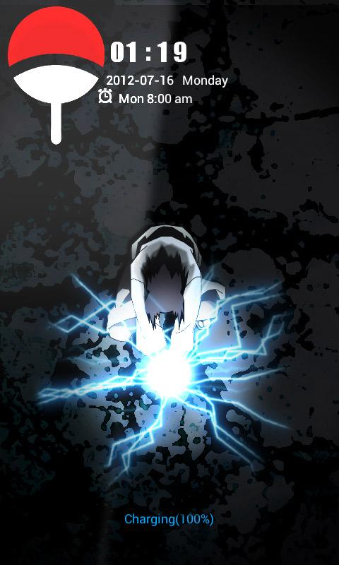 ART Chidori HD Theme Go locker - screenshot