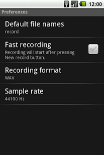 Rec and Save Recorder - screenshot thumbnail
