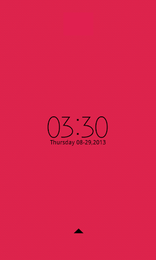 Minimal Red - Go Locker