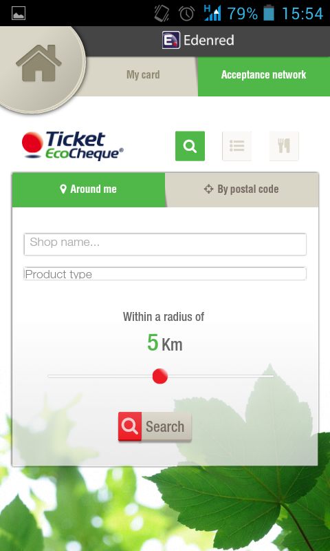 TicketFinder Belgium- screenshot