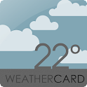 WEATHER CARDS UCCW MNIMALSKIN icon