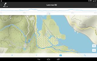 Screenshot of komoot — Hike & Bike GPS Maps