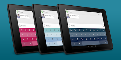 Screenshot of Fleksy + GIF Keyboard