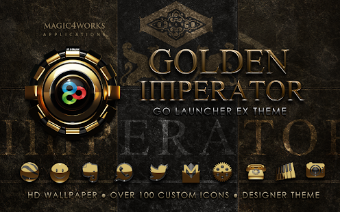 GO Launcher EX theme Imperator