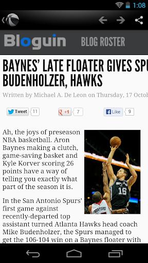 San Antonio Basketball News for PC