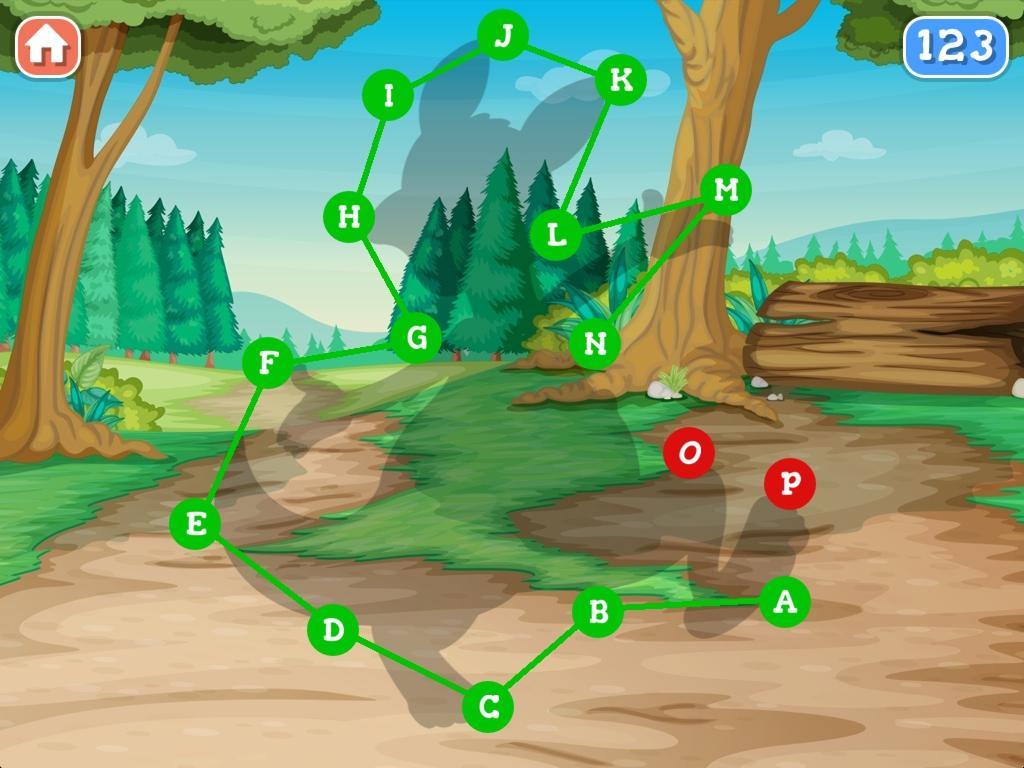 a forest dot to dot for kids android apps on google play