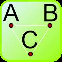 Alphabet Connecting Dots icon