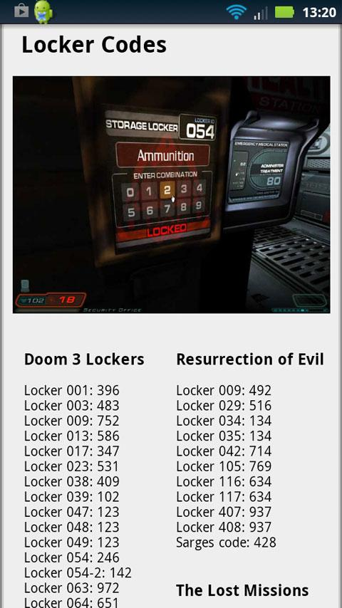 Doom 3 BFG Companion - screenshot