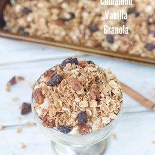 Cinnamon Vanilla Granola