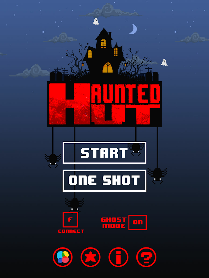 Haunted Hut- screenshot
