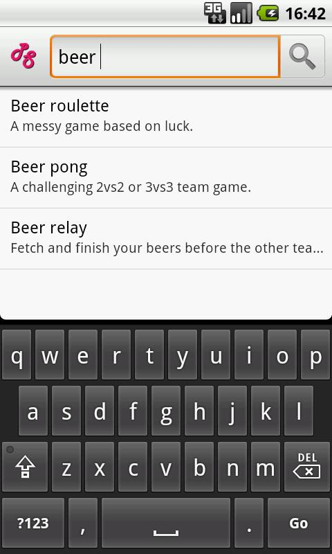 Party Starter (drinking games)- screenshot