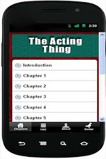 The Acting Thing - screenshot thumbnail