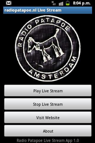 Radio Patapoe Live Stream App