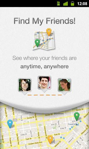 Найти друзей (Find My Friends) - лучшее приложение для android поиск людей