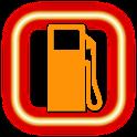 fuel economy (mileage) logo