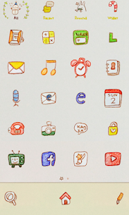 Young&Yoni dodollauncher theme- screenshot thumbnail