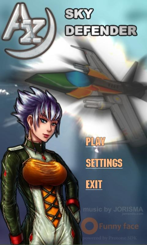 Az: Sky Defender 3D Free - screenshot