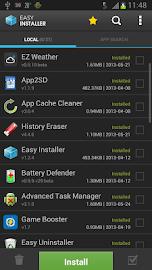 Easy Installer - Apps On SD Screenshot 1