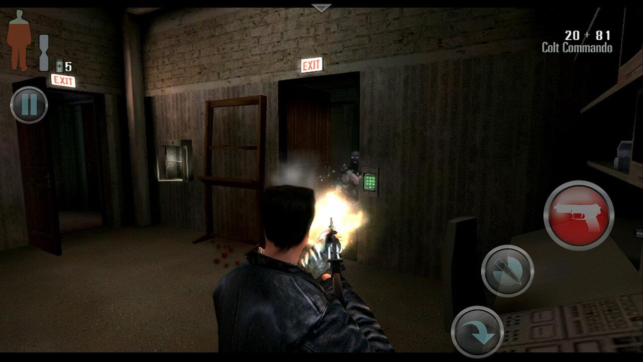 Max Payne Mobile- screenshot