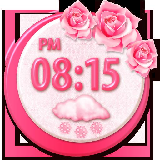 花卉时钟天气预报微件 天氣 App LOGO-APP試玩