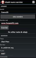 Screenshot of Chat Arequipa