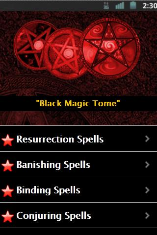 Black Magic Spells - screenshot