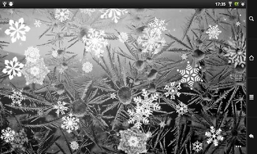Snowflakes FREE live wallpaper screenshot