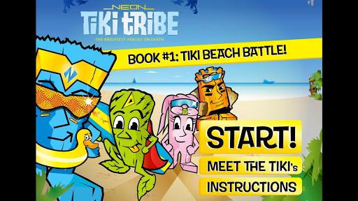 Neon Tiki Tribe: Beach FREE