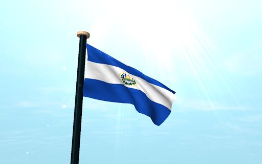 玩免費個人化APP 下載薩爾瓦多旗3D動態桌布 app不用錢 硬是要APP