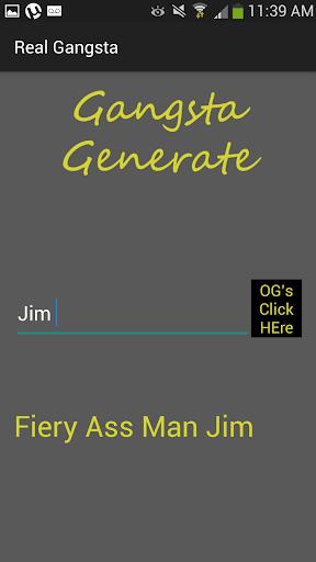【免費生活App】Gangster Name Generator-APP點子