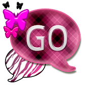 GO SMS THEME/PlaidZebraCPK