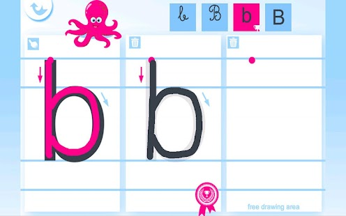 Write the Alphabet for Kids- screenshot thumbnail
