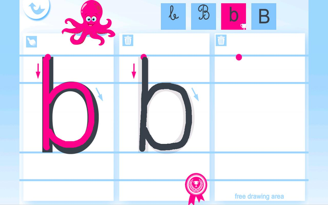 Write the Alphabet for Kids- screenshot
