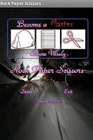 Screenshot of Rock Paper Scissors
