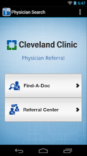 Physician Referral- screenshot thumbnail