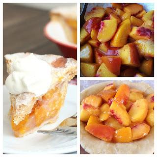 Triple Vanilla Bean-Scented Mini Peach Pie