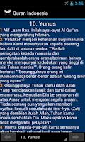 Screenshot of Quran Indonesia