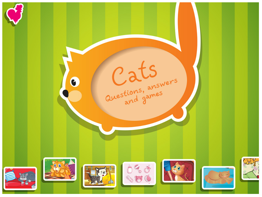 Cats. Questions and Answers- screenshot