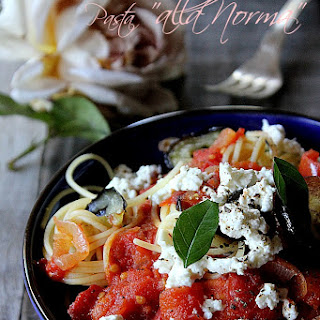 Pasta alla Norma (with Eggplant and Tomato).