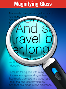 Magnifying Glass + Flashlight- screenshot thumbnail
