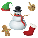 Aviary Stickers: Holiday
