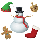 Aviary Stickers: Holiday icon