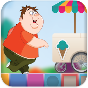 Fat Boy Run Icon