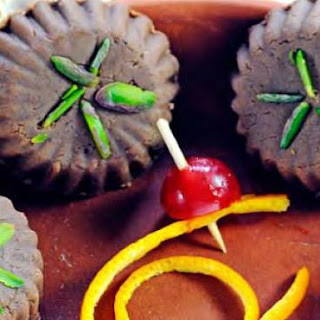 Light Chocolate Sandesh