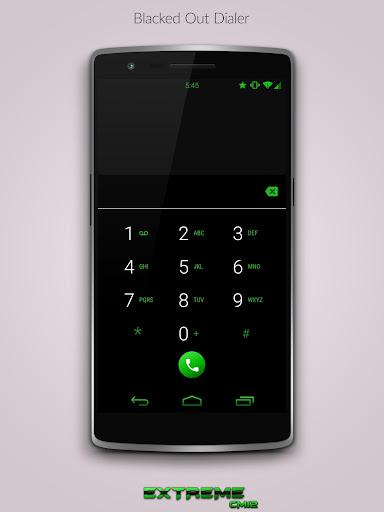 【免費個人化App】JB Extreme Green CM11 CM12-APP點子